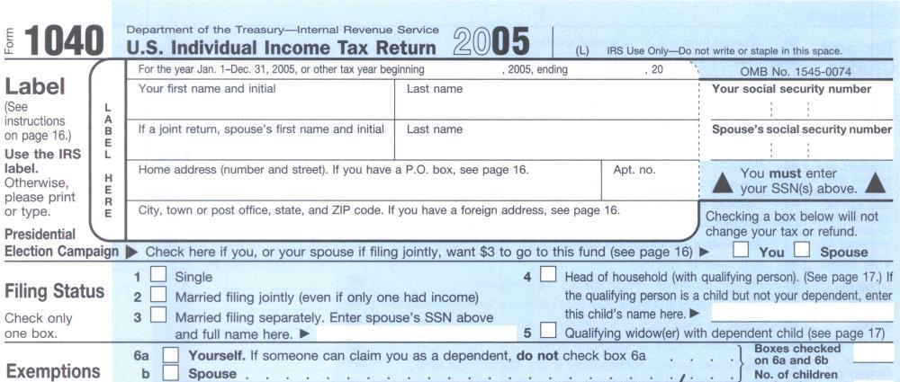 How To Know When To Use The 1040 1040a Or The 1040ez Form
