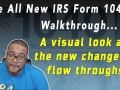 2018 IRS Form 1040 Walk Through