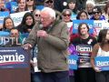 Bernie Sanders holds rally in Utah ahead of Super Tuesday primaries