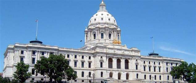 Minnesota State Capitol building.