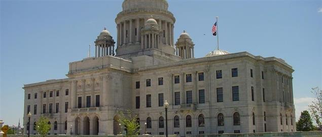 Rhode Island State House in Providence.
